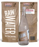 raw water, spring water, artesian well water, water secrets, glacier water