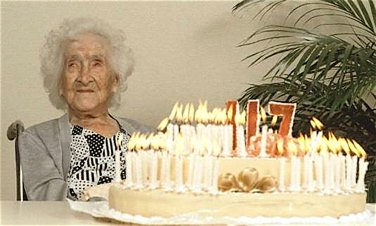 oldest human being, longevity in humans, super centenarians, jeanne calment, jeanne louise calment